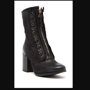 Miz Mooz Nikita Laced Leather Boot